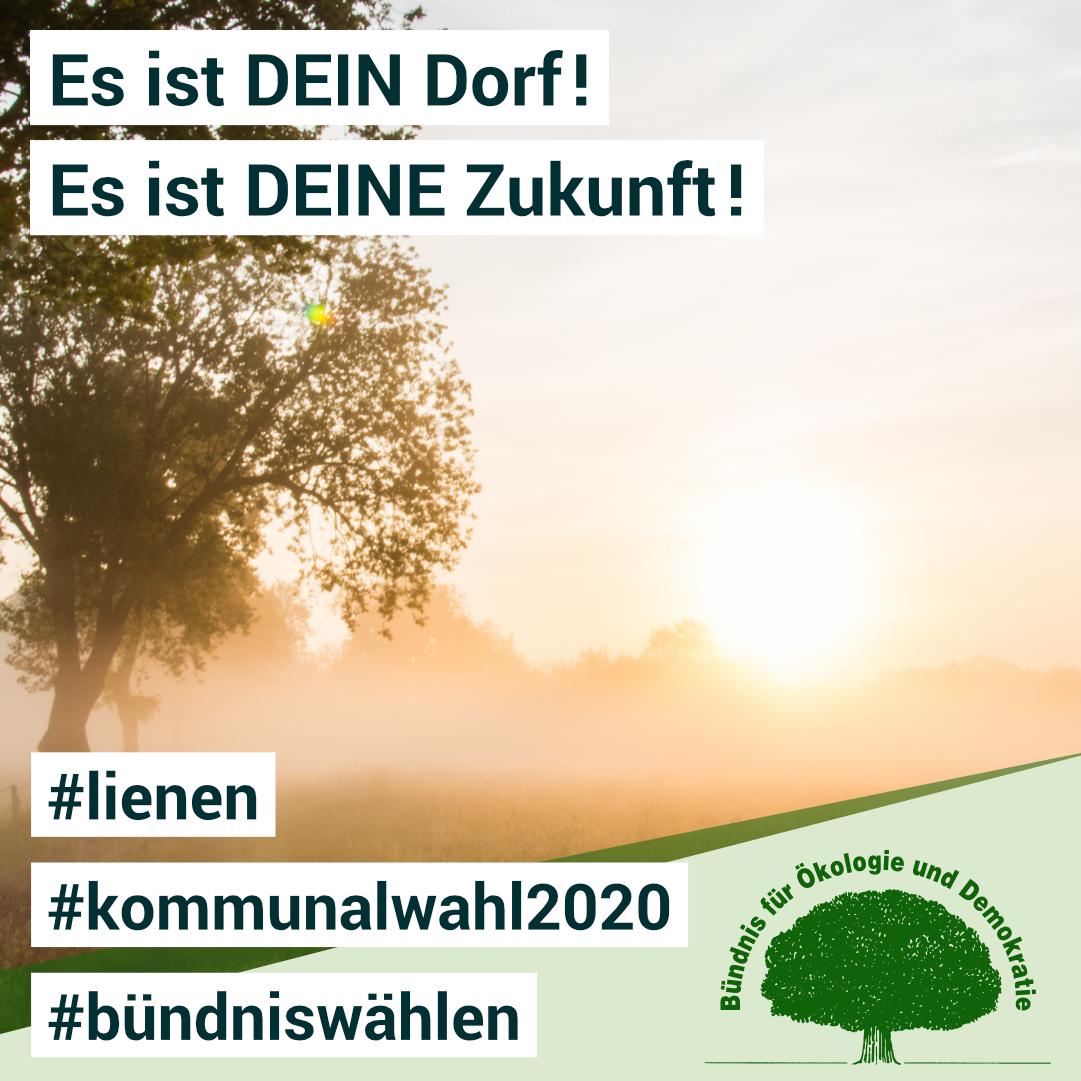 Kommunalwahl Lienen - Es ist DEIN Dorf und es ist DEINE Zukunft